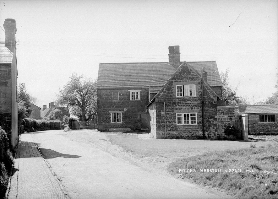The Holly Bush public house, Priors Marston.  1950s |  IMAGE LOCATION: (Warwickshire County Record Office)
