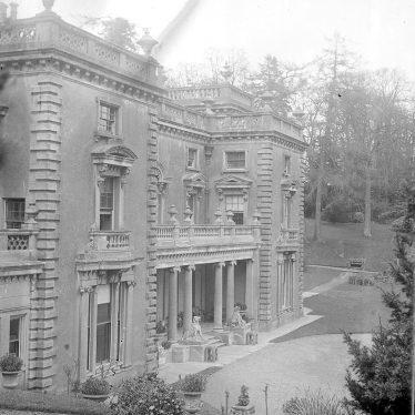 Shuckburgh Park.  Hall