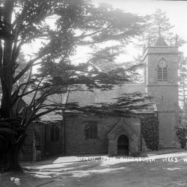 Shuckburgh Park.  St John the Baptist Church
