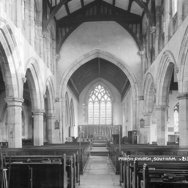 Southam.  Church, interior