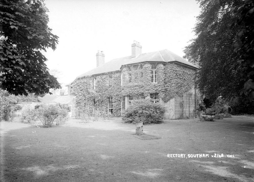 Southam Rectory.  1952 |  IMAGE LOCATION: (Warwickshire County Record Office)