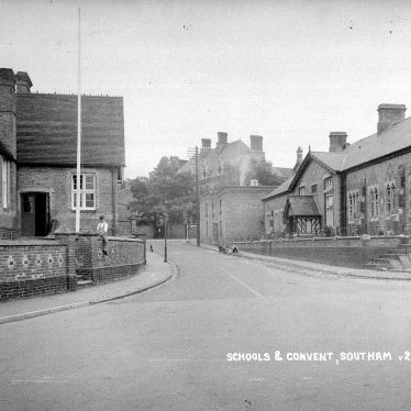 Southam.  Schools and convent