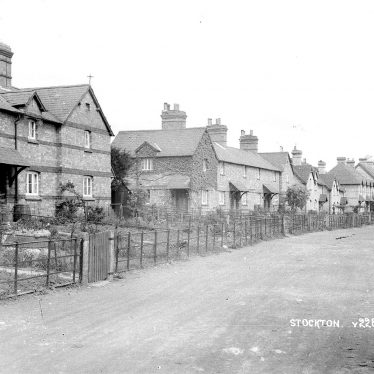 Stockton.  Semi-detached houses