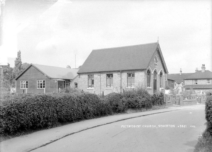 Stockton Methodist Church.  1950s |  IMAGE LOCATION: (Warwickshire County Record Office)
