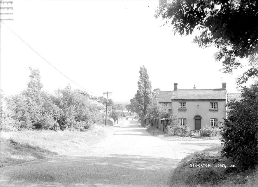 View of part of the village, Stockton.  1930s |  IMAGE LOCATION: (Warwickshire County Record Office)