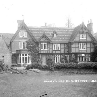 Stretton under Fosse.  Manor House