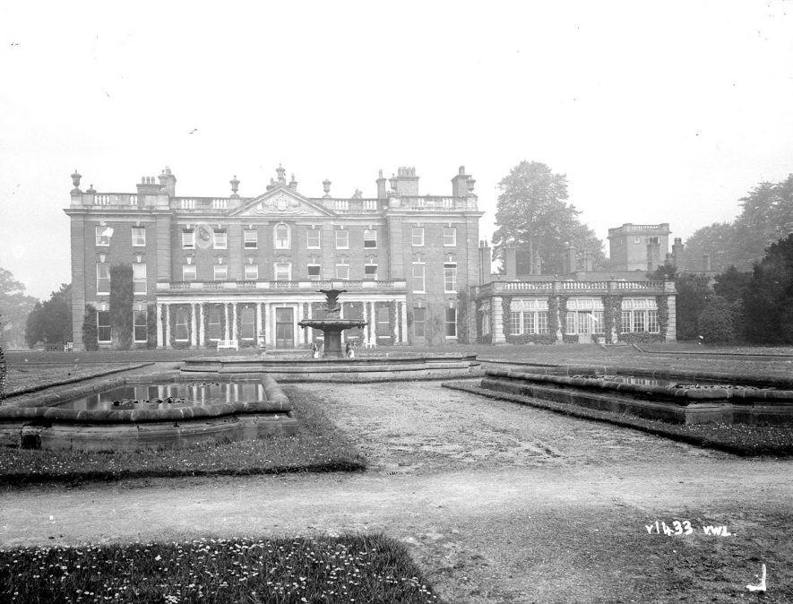 Newbold Revel, now a college, Stretton under Fosse.  1948    IMAGE LOCATION: (Warwickshire County Record Office)