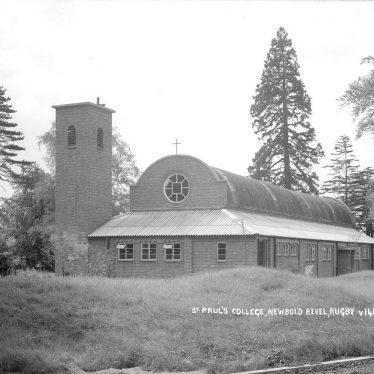 Stretton under Fosse.  St Paul's College Chapel