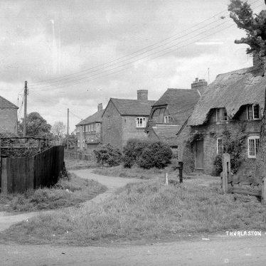 Thurlaston.  Cottages