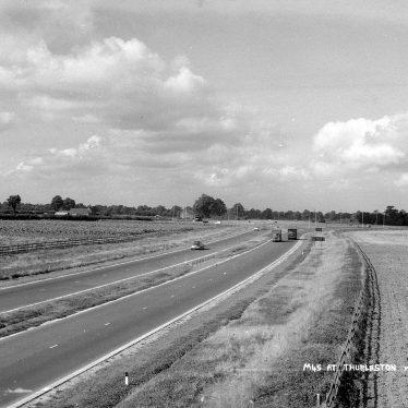 Thurlaston.  M45 Motorway