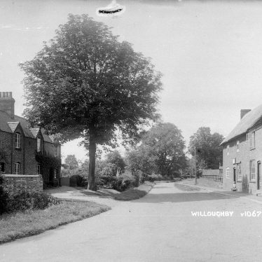 Willoughby.  Village shop and street