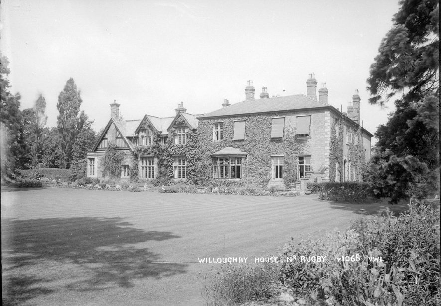 Willoughby House.  1935 |  IMAGE LOCATION: (Warwickshire County Record Office)