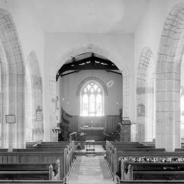 Willoughby.  St Nicholas Church, interior