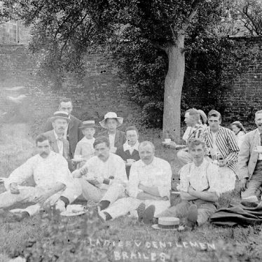 Brailes, Lower.  Cricket Team