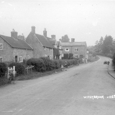 Withybrook.  Village street