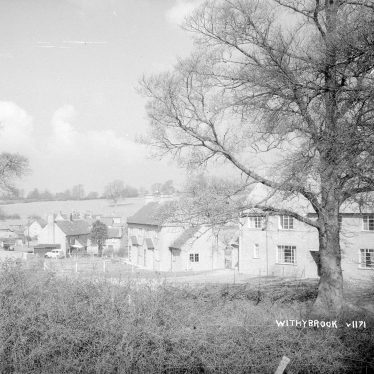 Withybrook.  Semi-detached houses