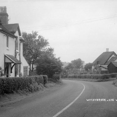 Withybrook.  Village street
