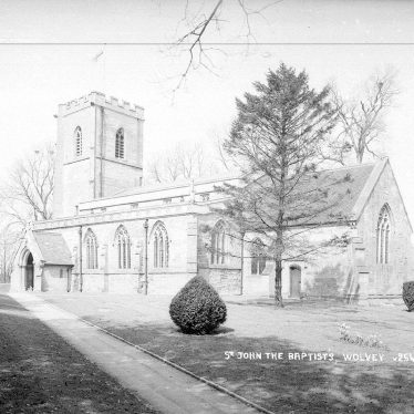 Wolvey.  St John the Baptist Church