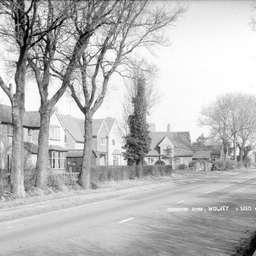 Wolvey.  Coventry Road