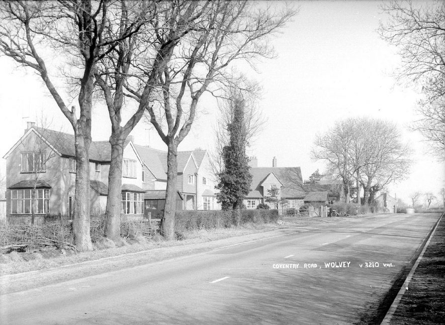 Coventry Road, Wolvey.  1960s |  IMAGE LOCATION: (Warwickshire County Record Office)