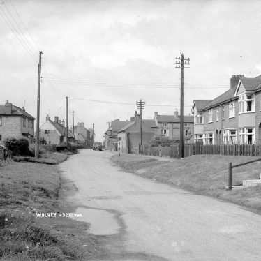 Wolvey.  Village street