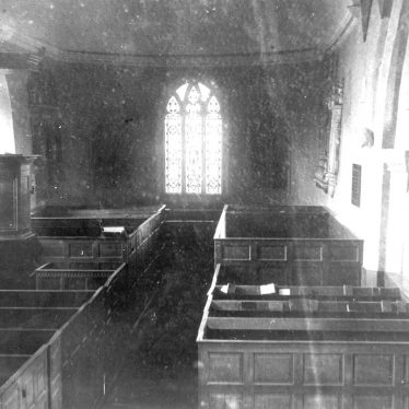Churchover.  Church, interior