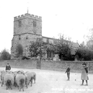 Clifton upon Dunsmore.  St Mary's Church