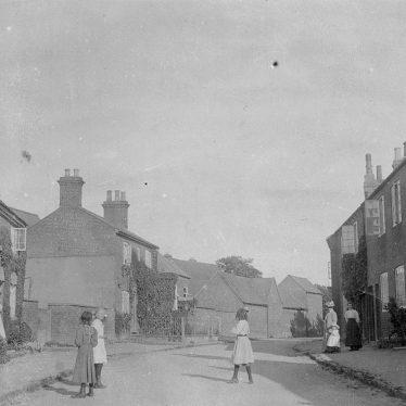 Churchover.  Village street