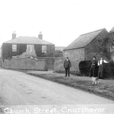 Churchover.  Church Street