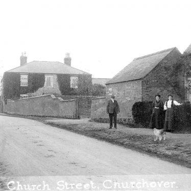 Churchover.  Church Street