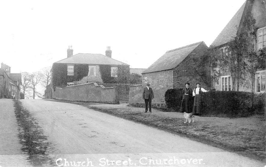 Church Street, Churchover.  1900s |  IMAGE LOCATION: (Warwickshire County Record Office)