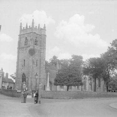 Alcester.  Church exterior