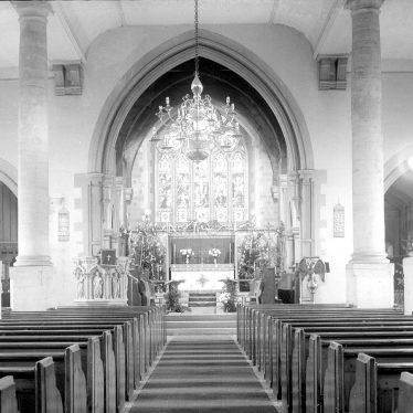 Alcester.  Church interior