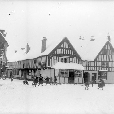 Alcester.  Church Street and Malt Mill Lane