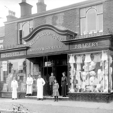 Studley.  Co-operative Society No. 2 Shop