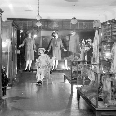 Alcester.  Ladies Fashion Shop interior