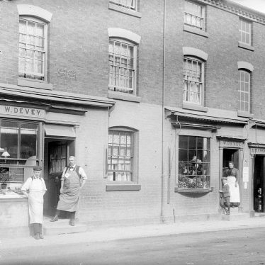 Alcester.  W. Devey's shop