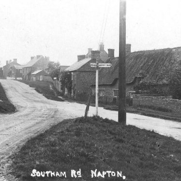 Napton on the Hill.  Southam Road