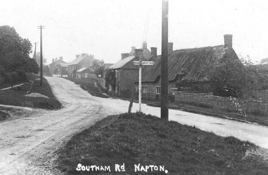 End of the Southam Road, looking west.  1920s |  IMAGE LOCATION: (Warwickshire County Record Office)