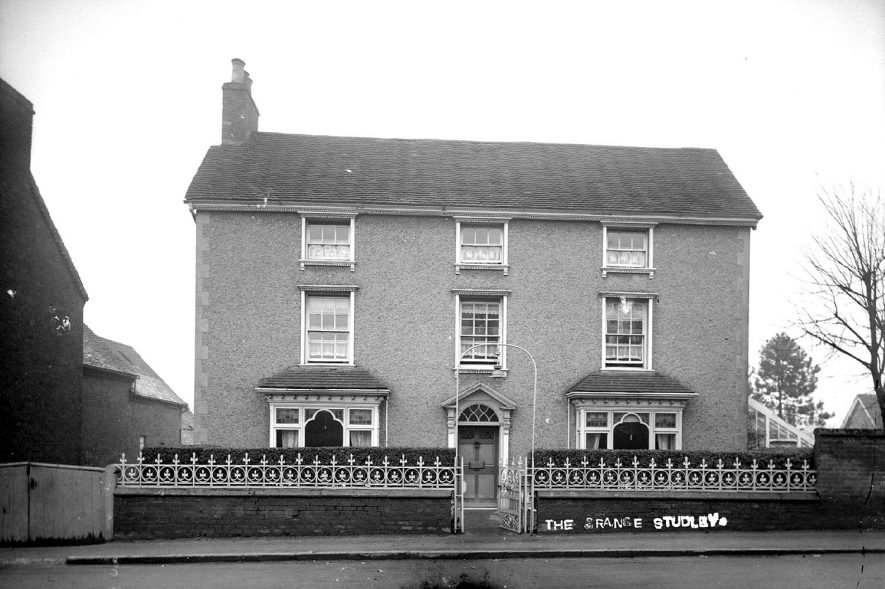 The Grange, home of Dr. Septimus Bodger, Studley.  1930s [It is possible that Dr Septimus Bodger was not resident at The Grange in the 1930's. In 1935 a Dr Houfton was living at the Grange] |  IMAGE LOCATION: (Warwickshire County Record Office)