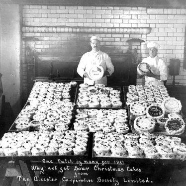Alcester.  Co-op Bakery