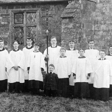 Brailes, Lower.  Church Choir