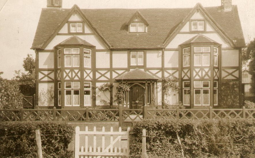 Exterior of the Manor House, Marton.  1930 |  IMAGE LOCATION: (Warwickshire County Record Office)