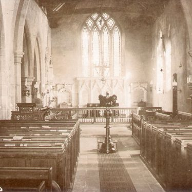 Grandborough.  St Peter's Church, interior