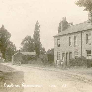 Grandborough.  Post Office
