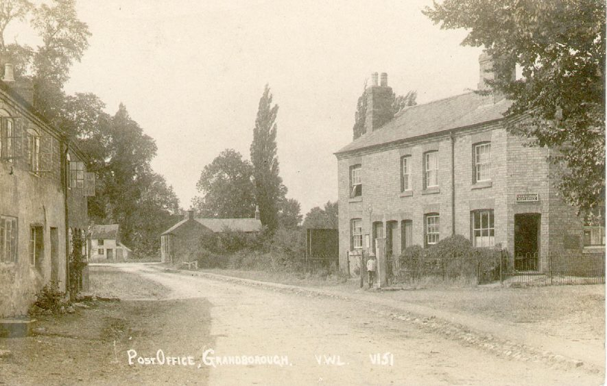 Village street and post office, Grandborough.  1920s |  IMAGE LOCATION: (Warwickshire County Record Office)