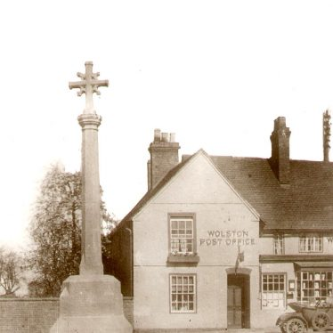 Wolston.  War Memorial