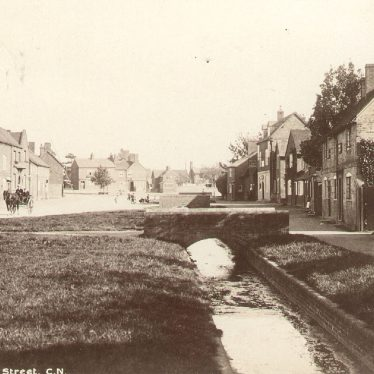 Wolston.  Village street