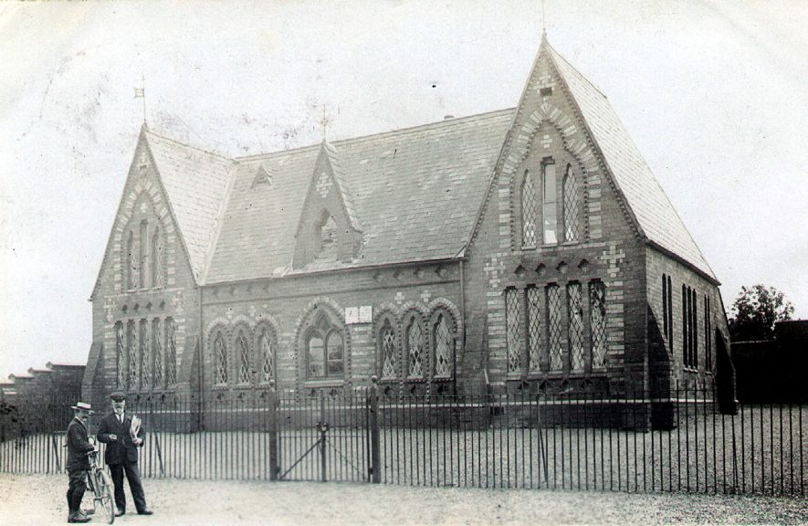 Wolston school in the 1900s. |  IMAGE LOCATION: (Warwickshire County Record Office)