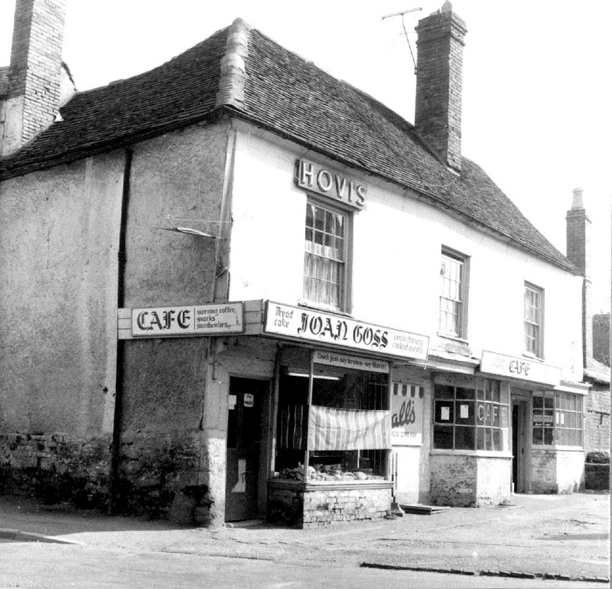 Church Street, Alcester, showing the bakers shop and cafe of Joan Goss.  1930s |  IMAGE LOCATION: (Warwickshire County Record Office)